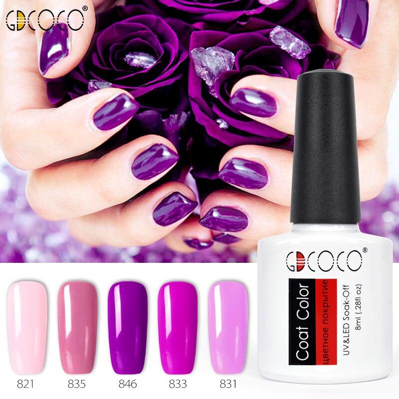 5 stks * 8 ml GDCOCO Nail Gel Vernis Nagellak Canni Fabriek 2018 Soak Off UV LED Nail Art camouflage Kleur Gel Polish Nail Kits