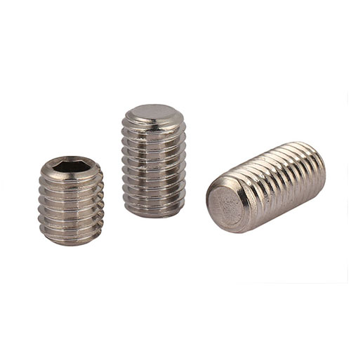 Alloy Steel Brass-Tip Set Screw Thread Size M4-0.7 FastenerParts