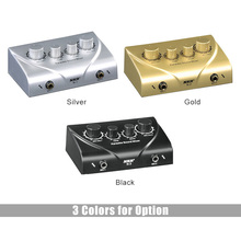 Karaoke Sound Mixer Dual Mic Inputs With Cable N-1 Silver Color