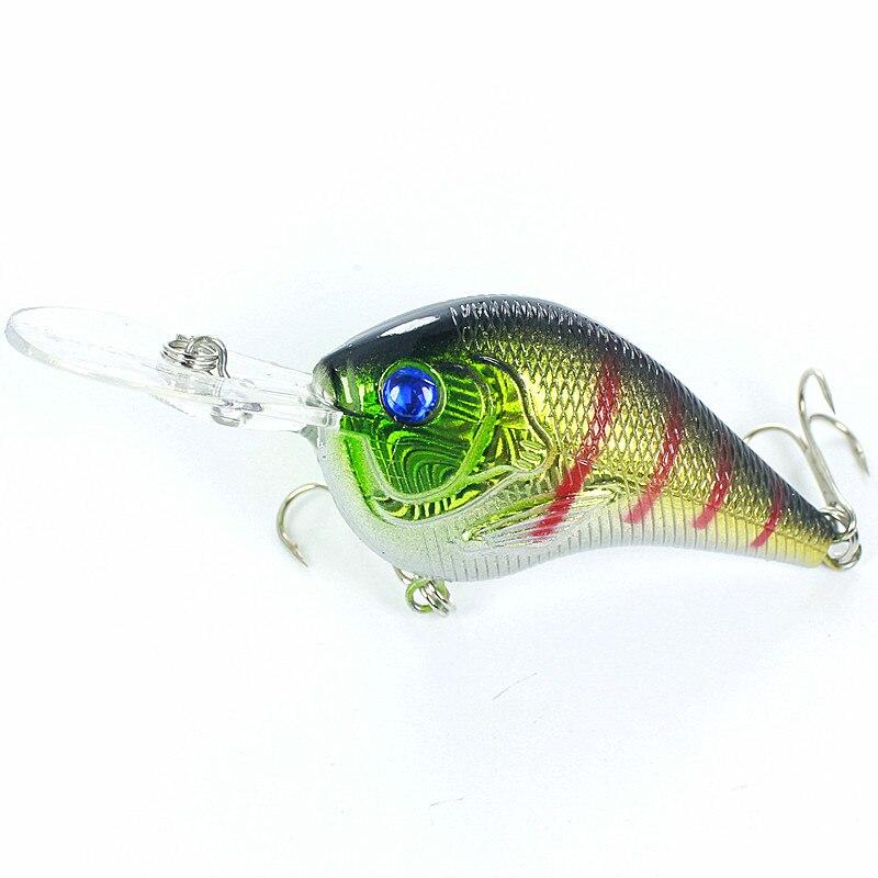 KKWEZVA 1 pc 9.5CM 11.2G brand fishing lures hooks VIB crankbaits Deep swim hard bait artificial baits minnow fishing wobbler