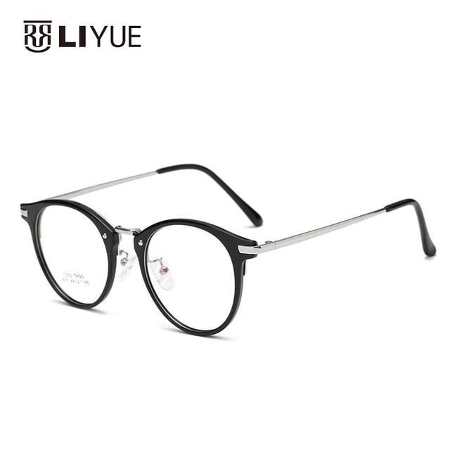 42e1818855d0 Retro round TR90 frames super light eyewear frame fashion prescription  eyeglasses for myopia or presbyopia 2635