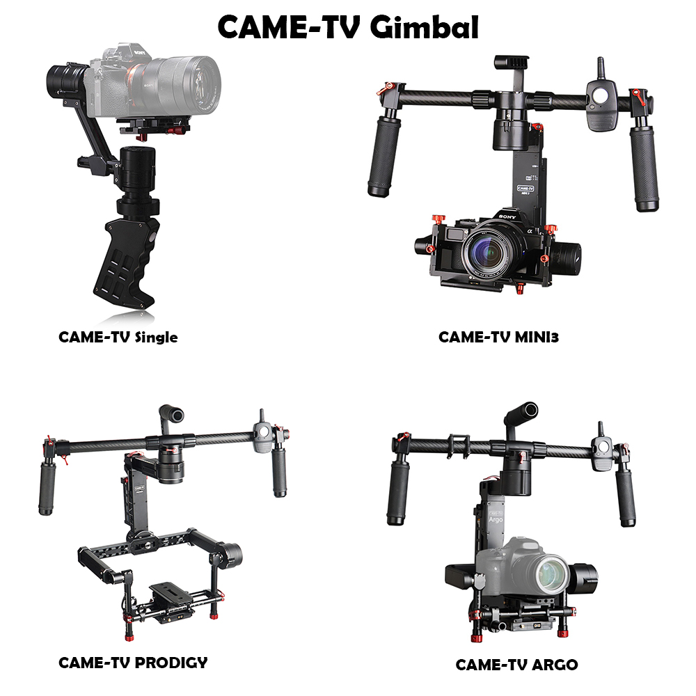 Came-TV CAME-Single / CAME Mini3 / CAME-PRODIGY / Came-ARGO 3 Axis Gimbal Portable Stabilize Camera 32-bit Boards with Encoders гарнитуры душевые argo набор для биде лейка шланг кронштейн argo dina блистер