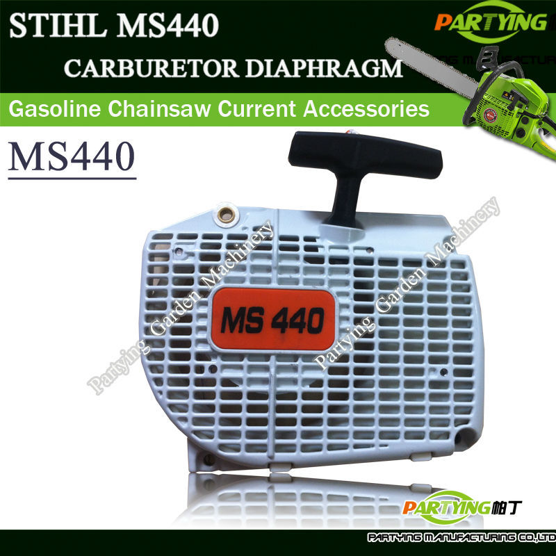 Recoil Pull Rewind Starter Assembly STL STH 044 046 MS440 MS460 Chainsaws WHITE FREE SHIPPING IN STROKE FREE SHIPPING chainsaw crank crankshaft kom62 6200 62cc chainsaws metal parts black free shipping in stroke free shipping pt62 09