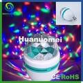 Stage nightclub dj led lighting effect 3W e27 crystal led bulb colorful AC220V
