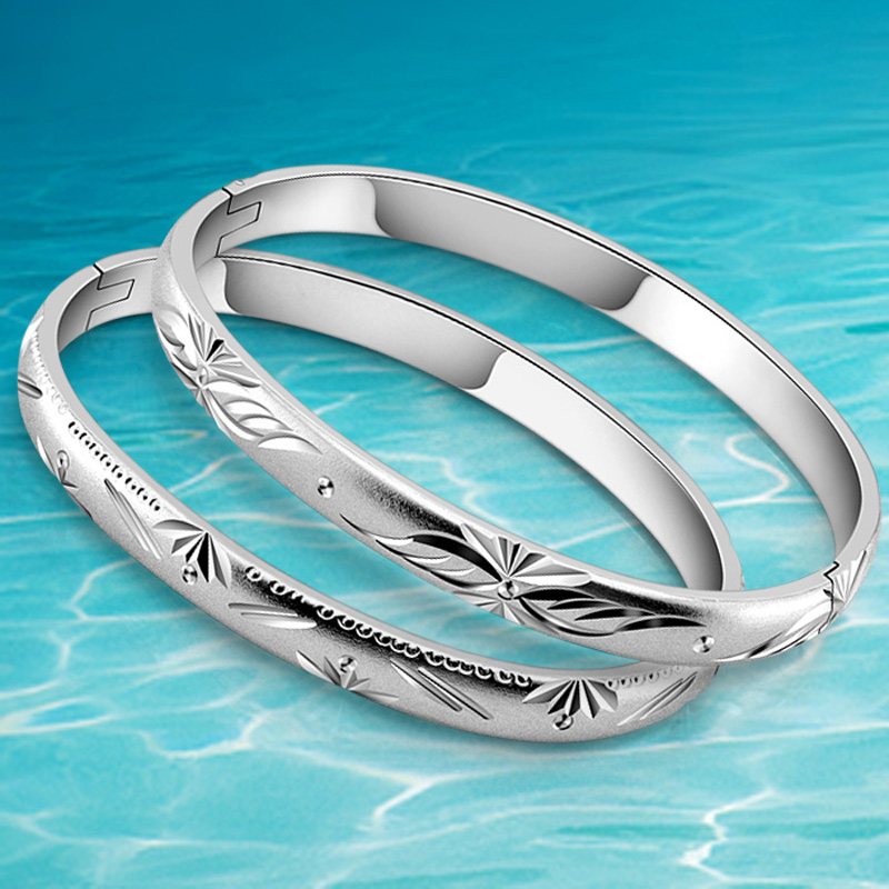 New arrival fashion style hot sale women bangles 925 sterling silver - Fine Jewelry