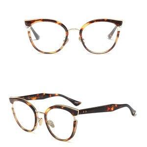 Image 5 - 2019 New Design Women Style Quality Reading Glasses Fashion Full Rim Round Presbyopia Eyewear for Women oculos de leitura