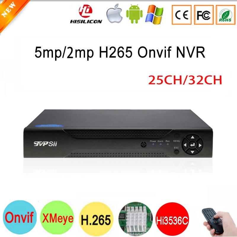 Hi3536C XMeye 2*SATA 5mp 25CH/1080P 2mp 32CH Surveillance Video Recorder H.265 Onvif IP Camera WIFI CCTV NVR Free Shipping full hd 1080p h 265 32ch cctv nvr 25ch 5mp 8ch 4k nvr 2 sata hdd xmeye onvif p2p hdmi vga cctv video recorder 3g wifi n7932f