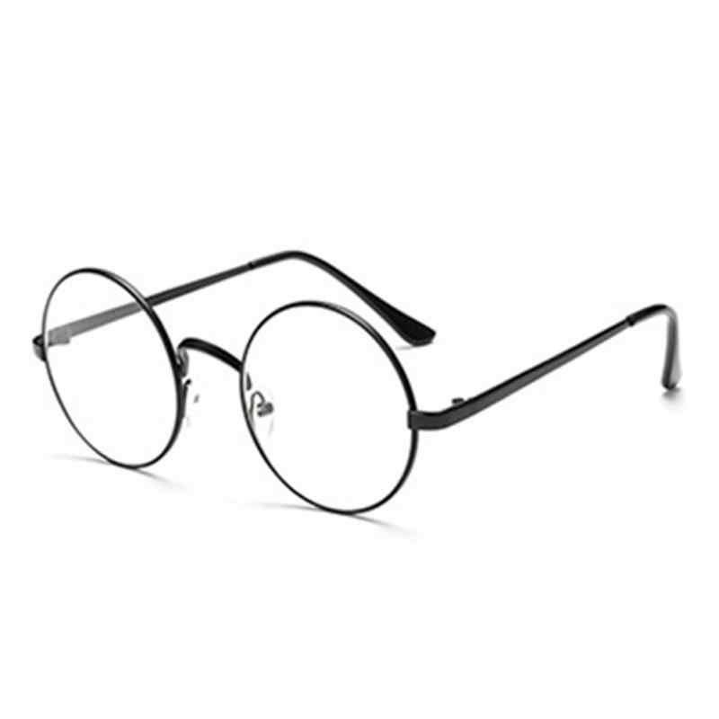 63e637ab173b ... Hot Retro Oversized Korean Round Glasses Frame Clear Lens Women Men  Gold Eyeglass Optic Frame Eyewear ...