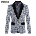 2016 new arrival spring High quality velveteen casual plaid blazer men,casual jacket men,men's coat,plus-size M-5XL,3 color