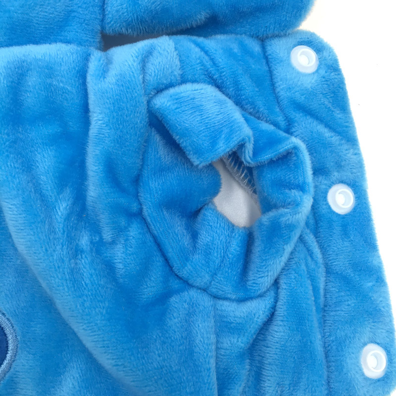 Warm Dog Jacket with Hoodie and Button Closure Design for Small Dogs and Cats 13