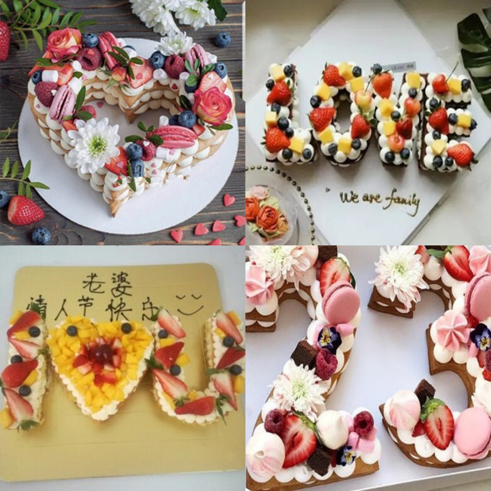81012 Plastic 0 9 Number Cake Mold Cake Decorating Tools