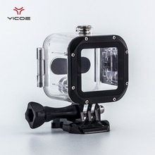 45M Diving Underwater Waterproof Housing Case Cover house For Go pro 4S GoPro Hero 4S Session Action Sport Camera Accessories