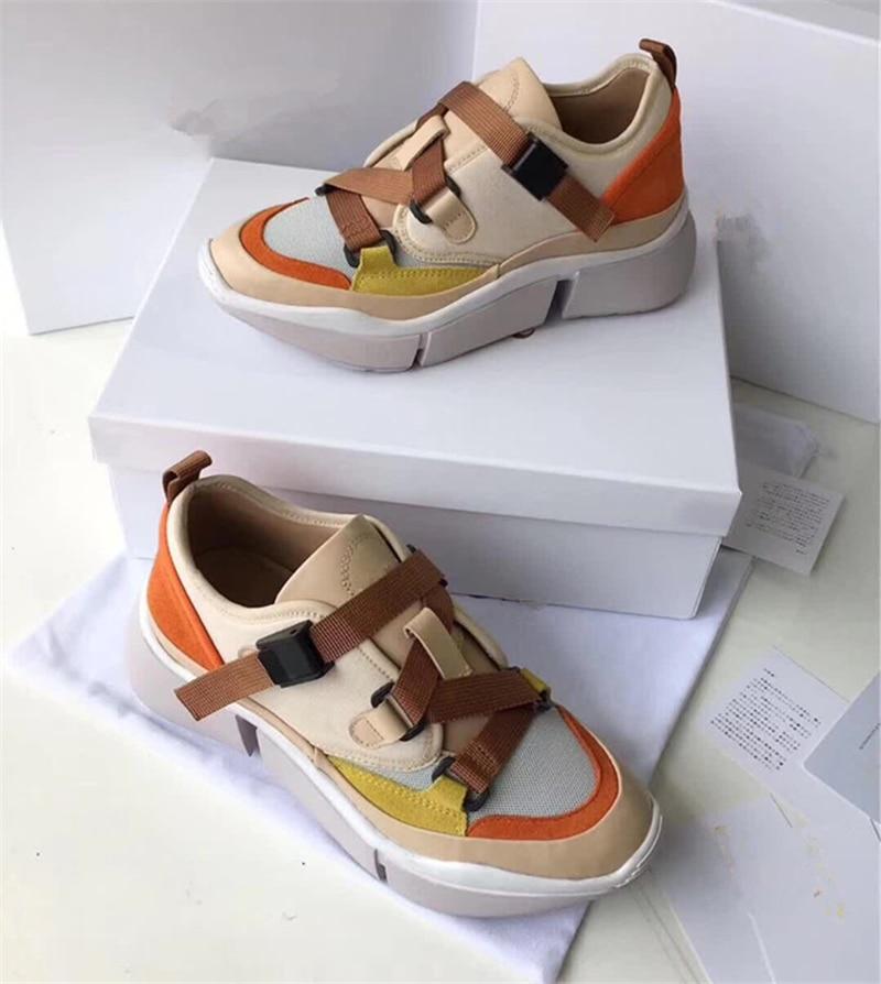 Plat Laofers Chaussures Picture Marque Gladiateur Rue Femmes Femme Luxe Bout Mixte De Rond Picture Dames As Pour Style as Couleur Sneakers qOqrAUz