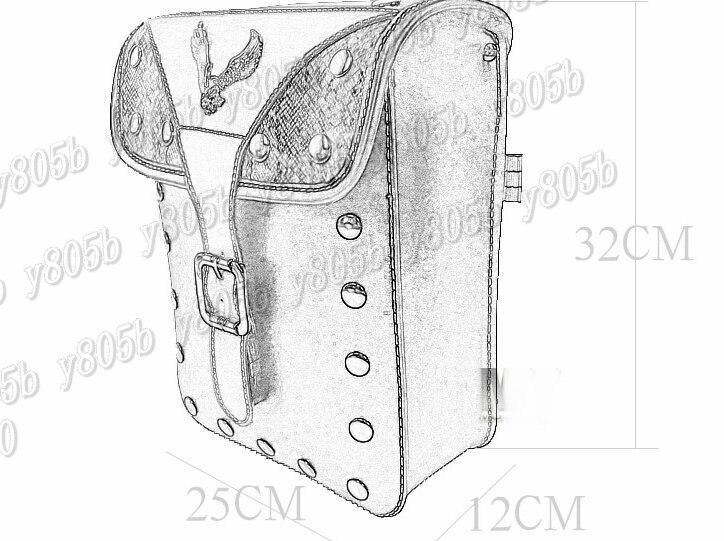 Motorcycle Saddle Bags Side Bag For Yamaha Vstar 400 650 1100 1300