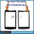"""De Calidad superior 3.2 """"Para Texet TM-3204R tm 3204r FPC-TP10675A-V0-K Sensor de Panel Táctil Digitalizador de Vidrio Frontal de Color Negro"""