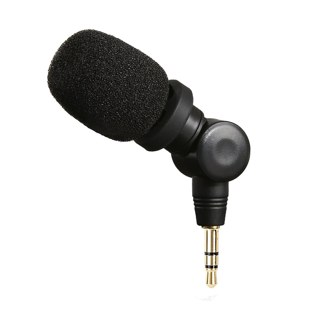Saramonic SR-XM1 Micrófono TRS de 3,5 mm plug and play Mic para - Audio y video portátil
