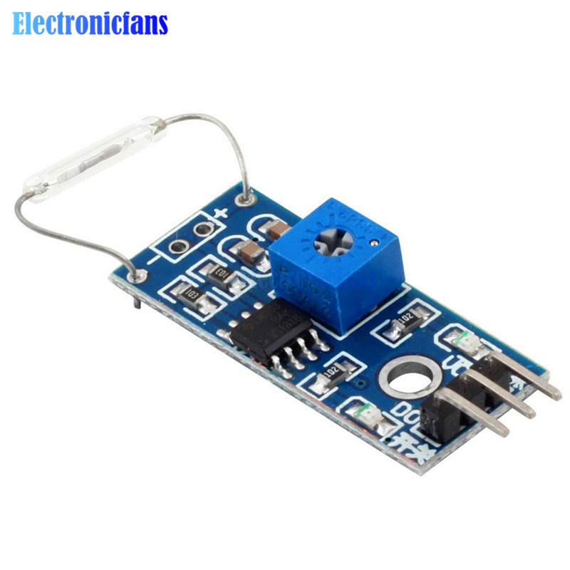 Moduł czujnika kontaktronowego moduł magnetronowy przełącznik trzcinowy MagSwitch dla Arduino cyfrowy przełącznik wyjście dc 3.3 V-5 V szerokie napięcie