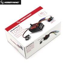 HobbyWing-controlador electrónico de velocidad para coche de control remoto, Original, QuicRun 60A 1060, ESC para coche de control remoto 1:10, resistente al agua