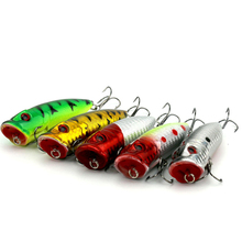 3D Eyes Popper Fishing Lures China 6.5CM 11.1g 5Colors Lifelike Crankbait With Two Fishing Hook Fishing Tackle PO030