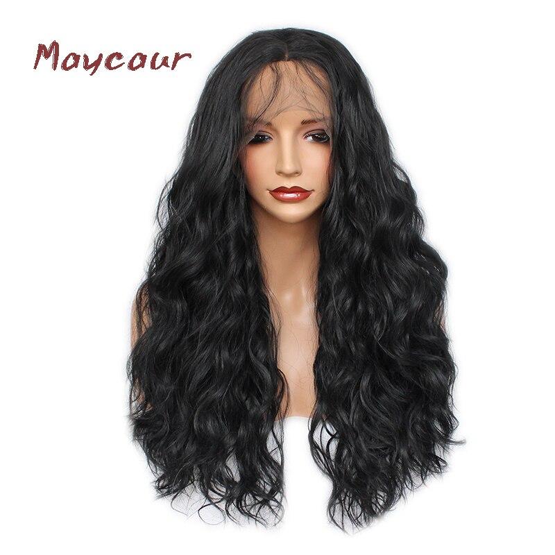 Long Wave Lace μπροστινή περούκα με μωρό - Συνθετικά μαλλιά - Φωτογραφία 1