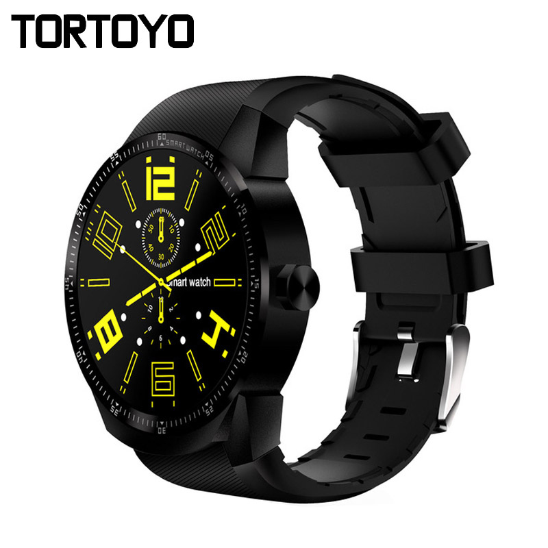 TORTOYO 3G Smartwatch K98H Smart Watch Phone Android 4.1 OS GPS Fitness Tracker WiFi Bluetooth SIM Heart Rate For iPhone Android fashion s1 smart watch phone fitness sports heart rate monitor support android 5 1 sim card wifi bluetooth gps camera smartwatch