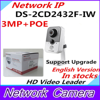 English Version IP Camera DS 2CD2432F IW V5 3 0 Support POE Network WIFI Camera IP