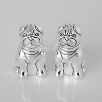Spice & pepper shakers Lap dog Kitchen seasoning bottles Seasoning bottle Seasoning pot Salt & Pepper Shakers