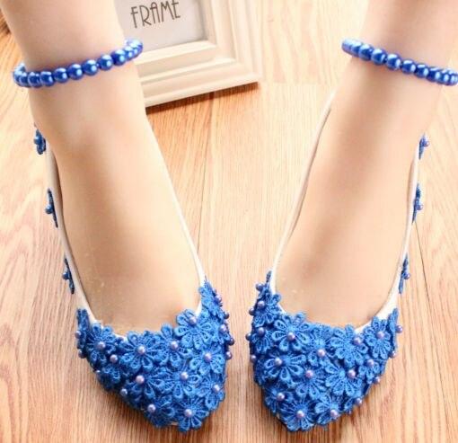 Mid heels womens wedding shoes PR650