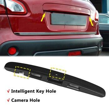 Задняя дверца багажника дверная ручка Накладка «Замочная скважина» для Nissan Qashqai J10 JJ10 2007 2008 2009 2010 2011 2012 2013 2014