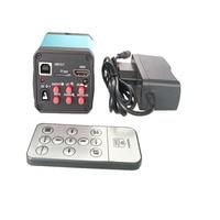 14MP 3 in 1 HDMI HD USB Digital Industry Video TF card recorder Microscope Camera Set +IR REMOTE CONTROL