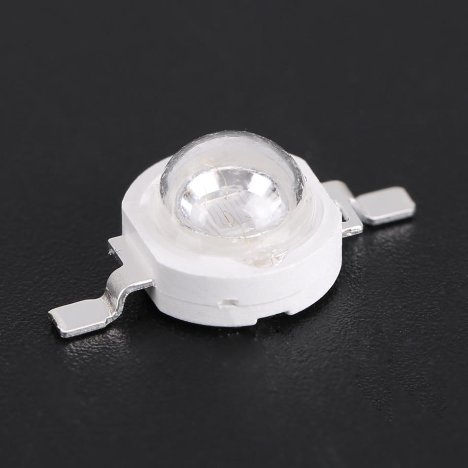 10PCS 3W LED Black Light Bulbs Lamp UV Light Chips UV395-400Nm LED Ultraviolet Lights for Scanning Printer