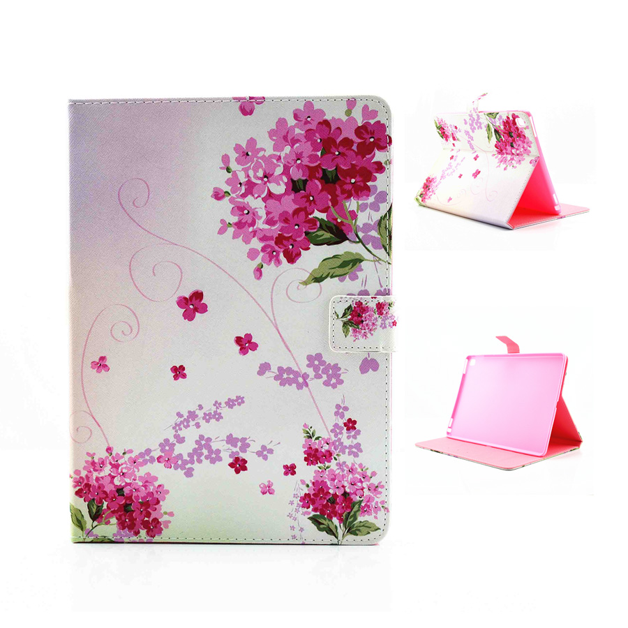 For Case Apple iPad Pro 9.7 [inch] Smart Colorful Flower PU Leather Tablet Case Stand Flip Cute Kids Cover for iPad Pro 9.7 Capa