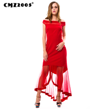 Hot Sale New Women Vintage  Fashion Autumn Solid  Knee-Length  Slash Neck Dresses  with   short  sleeve   71428