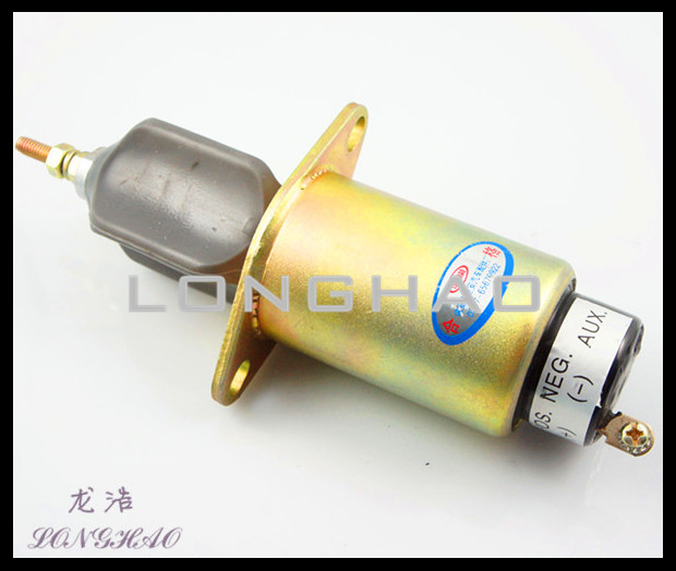3906398 3906098 Flame Stop Solenoid  valve oil-stop electromagnetic valve 2901021702 oil stop valve