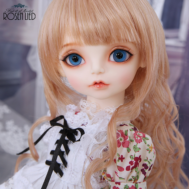 Rosenlied RL Holiday shasha bjd sd doll 1/4 body model boys or girls bjd oueneifs High Quality resin toys free eye beads shop