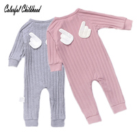 Colorful Childhood Baby Boys Girls Jumpsuits Toddler Kids Wings Bodysuit Newborn Outfits Infant Baby Overalls