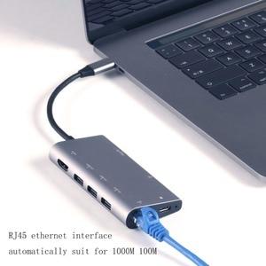 Image 5 - Hub USB C HDMI adapter do Macbooka Pro/powietrza 2018 HP Dell XPS Inspiron Latitude Lenovo Thinkpad jogi Acer Asus stacja dokująca