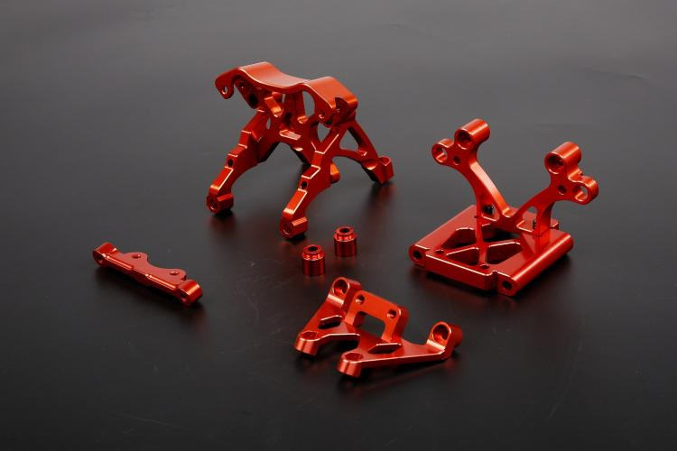 baja spare parts CNC alloy front head Kit for 1/5 gas rc