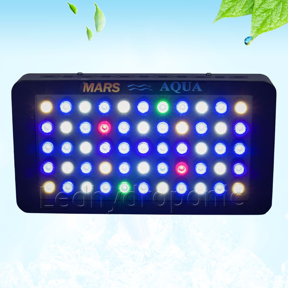 Mars Aqua 165w Dimmable Led Aquarium Lights for Marine Coral Reef SPS/LPS