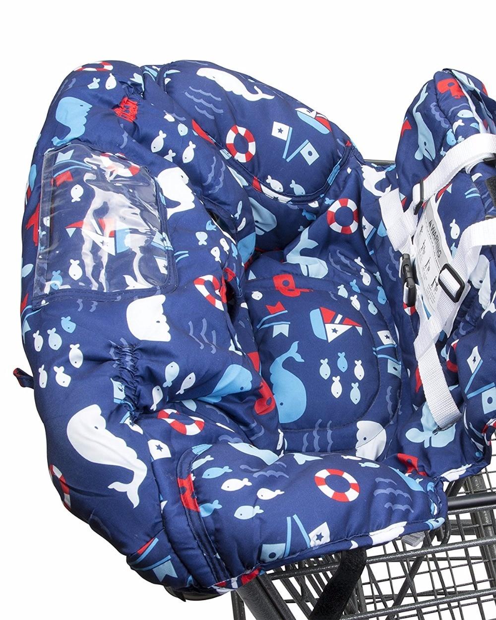 Премиум покрывало для магазиннной тележки и крышки стульев, легкая установка, система жгута, Мягкая комфортная амортизация, универсальный размер, защищает