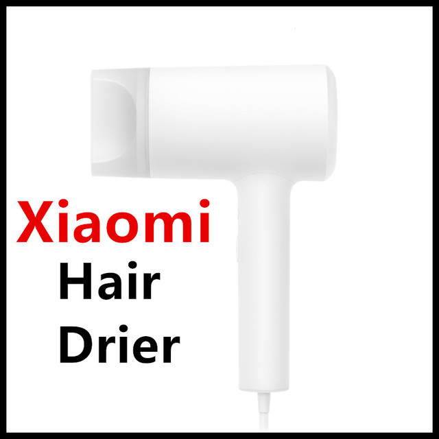 Presale Xiaomi Mijia Water Ions Hair Drier NTC Smart Temprature Control Cold Hot Air Circulation Big Volume Water Ions Protect