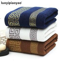 Бесплатная доставка 100% мягкого хлопка утолщение банное полотенце мужские и женские коммерческих полотенце большое полотенце 75 см * 150 см
