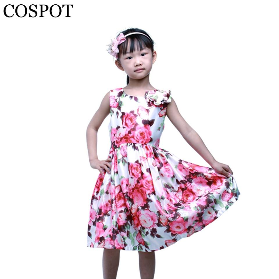 ᐃCosopt Baby Niñas princesa flor chica verano Vestidos para la boda ...