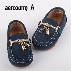 Aercourm a 2017 genuine leather children s shoes girls spring new single shoes boy girls boat.jpg 250x250