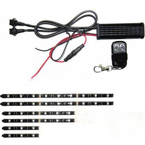 LDDCZENGHUITEC 6pc RGB 72-LED