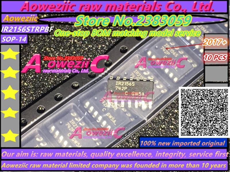 Aoweziic 2018+ 100% New Imported Original IR2156STRPBF IR2156S  SOP-14   IR2156PBF  DIP-14  Ballast Control Chip  IR2156