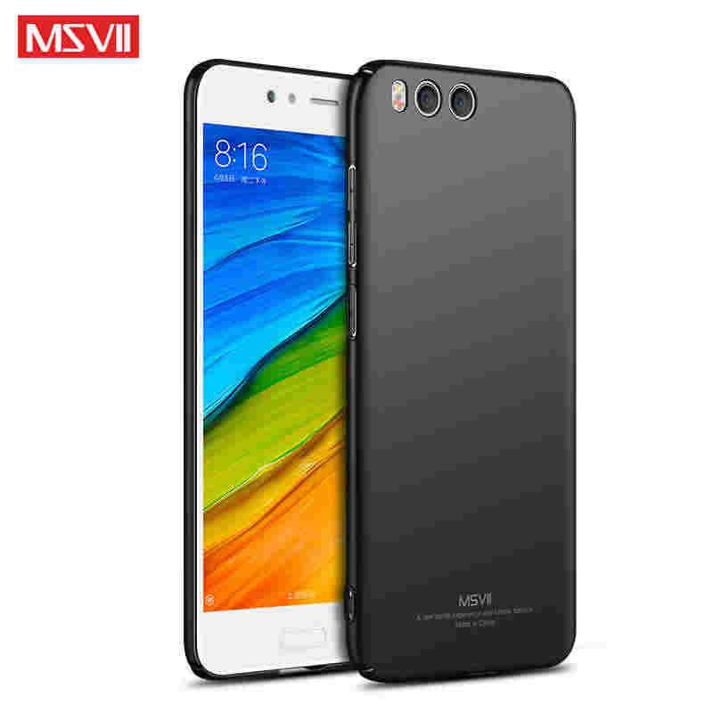 Xiaomi mi 6 Чехол MSVII палец кольцо матовый жесткий чехол Xiaomi mi 6 Чехол Xio mi 6 mi 6 задней крышкой с держателем для костюма героев аниме «mi 6 mi 6 M6 чехлы