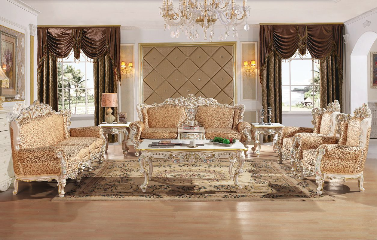 US $4289.0 |Royal Antique Baroque Carved Sofa Set Living Room Crack  Painting Sectional Sofa-in Living Room Sofas from Furniture on  Aliexpress.com | ...
