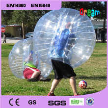 Free Shipping!1.5m 1.0mm  Inflatable clear human  hamster ball/soccer bubble ball/bumper ballzorb ball for football