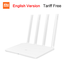 English Version Xiaomi Mi WIFI Router 3 11AC Dual Band 2 4 5G 1167Mbps 128M ROM